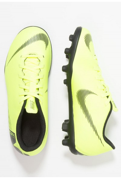 Nike MERCURIAL VAPOR 12 CLUB MG - Chaussures de foot à crampons volt/black