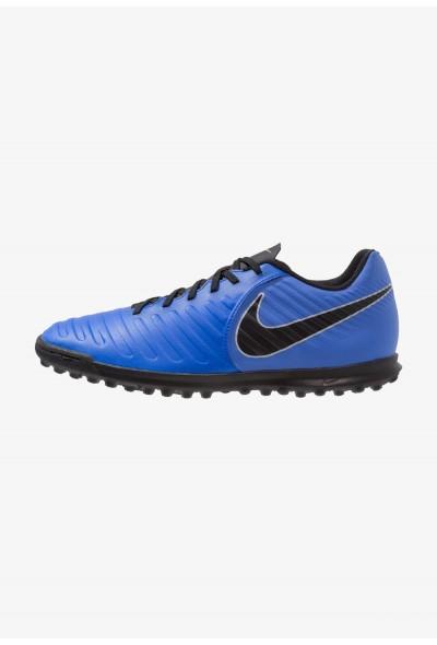 Nike TIEMPO LEGENDX 7 CLUB TF - Chaussures de foot multicrampons racer blue/black/wolf grey