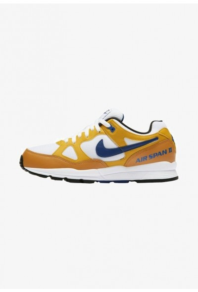 Nike AIR SPAN II - Baskets basses ochre/dark blue