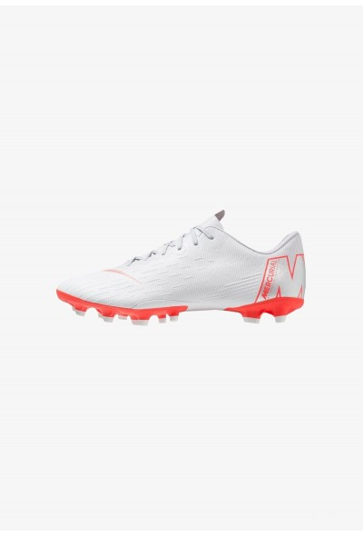 Nike VAPOR 12 PRO AGPRO - Chaussures de foot à crampons wolf grey/light crimson/pure platinum/metallic silver
