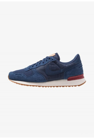 Nike AIR VORTEX - Baskets basses navy/team red/sail/medium brown/vachetta tan