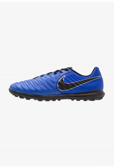 Nike TIEMPO LUNAR LEGENDX 7 PRO TF - Chaussures de foot multicrampons racer blue/black/metallic silver