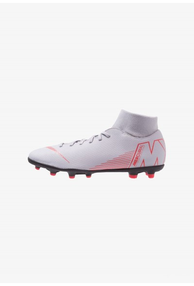 Black Friday 2019 - Nike MERCURIAL 6 CLUB MG - Chaussures de foot à crampons wolf grey/light crimson/black
