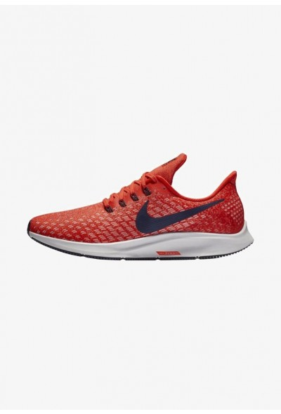 Nike AIR ZOOM PEGASUS 35 - Chaussures de running neutres habanero red/vast grey/dune red/blackened blue