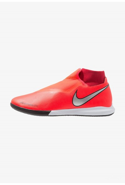Nike PHANTOM OBRAX 3 ACADEMY DF IC - Chaussures de foot en salle bright crimson/metallic silver/university red/black