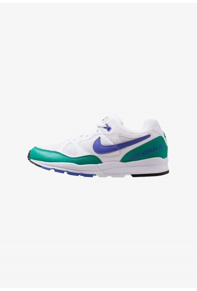 Nike AIR SPAN II - Baskets basses white/persian violet/neptune green/black