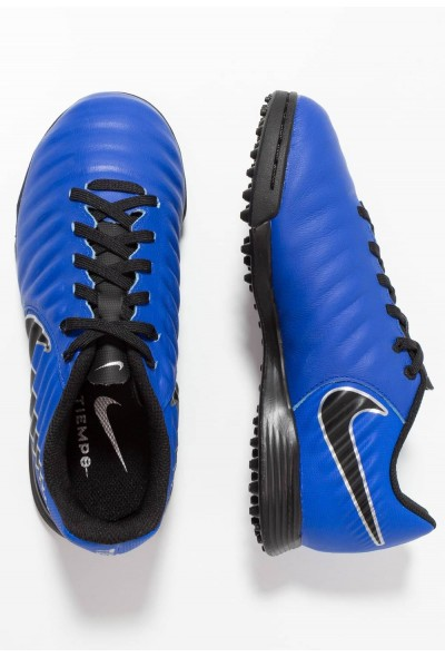 Nike TIEMPO LEGENDX 7 ACADEMY TF - Chaussures de foot multicrampons racer blue/black/metallic silver