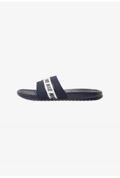 Nike BENASSI - Sandales de bain obsidian/white
