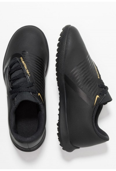 Black Friday 2019 - Nike PHANTOM CLUB TF - Chaussures de foot multicrampons black/metallic vivid gold