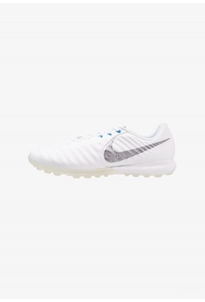 Nike TIEMPO LUNAR LEGENDX 7 PRO TF - Chaussures de foot multicrampons white/chrome/blue hero