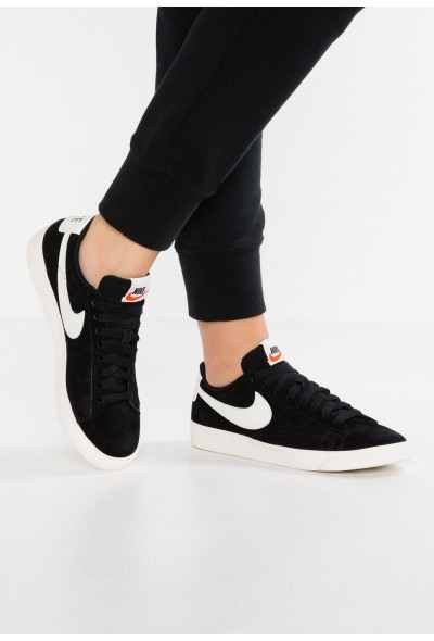 Nike BLAZER LOW SD - Baskets basses black/sail
