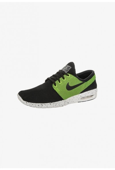 Nike STEFAN JANOSKI MAX - Baskets basses - black/black-volt black/black-volt-ivory