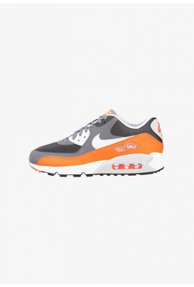 Nike AIR MAX 90 ESSENTIAL - Baskets basses cool grey/pure platinum/total orange/anthracite