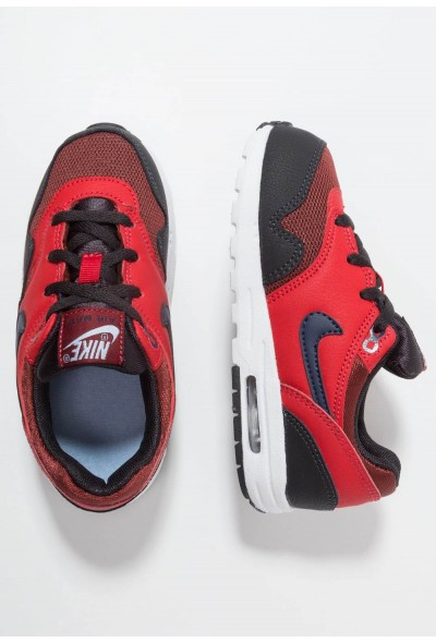 Nike AIR MAX 1 - Baskets basses rough red/midnight navy/university red/oil grey