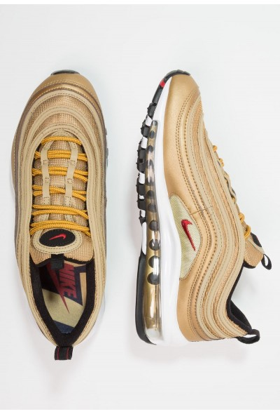 Nike AIR MAX 97 QS (GS) - Baskets basses metallic gold/varsity red/black/white
