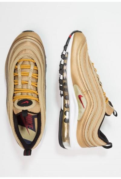 Nike AIR MAX 97 QS (GS) - Baskets basses metallic gold/varsity red/black/white