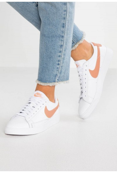 Black Friday 2019 - Nike BLAZER - Baskets basses white/rose gold