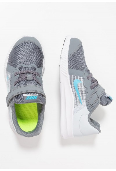 Nike DOWNSHIFTER  - Chaussures de running neutres cool grey/blue fury/pure platinum/white
