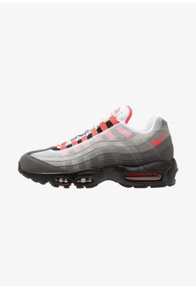 Nike AIR MAX 95 OG - Baskets basses white/solar red/granite/dust/dark pewter