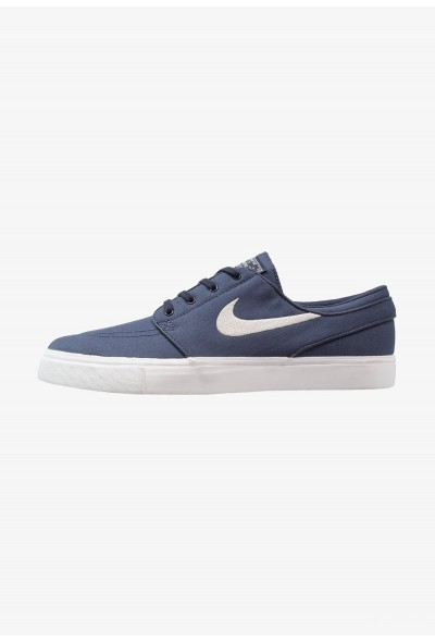 Nike ZOOM STEFAN JANOSKI - Baskets basses thunder blue/light bone/summit white/lemon wash