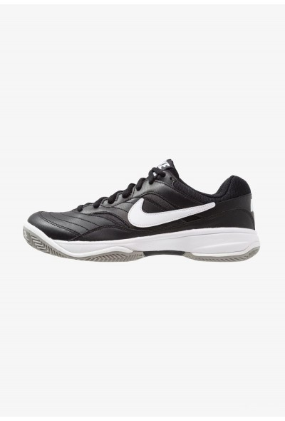 Nike COURT LITE CLAY - Chaussures de tennis sur terre battue black/white/medium grey