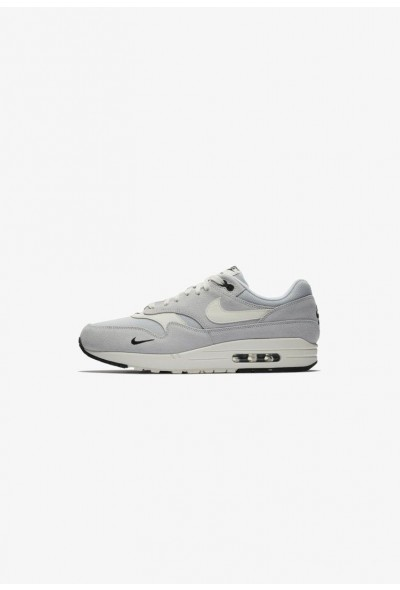 Nike AIR MAX 1 PREMIUM HERRENSCHUH - Baskets basses silver/black/white