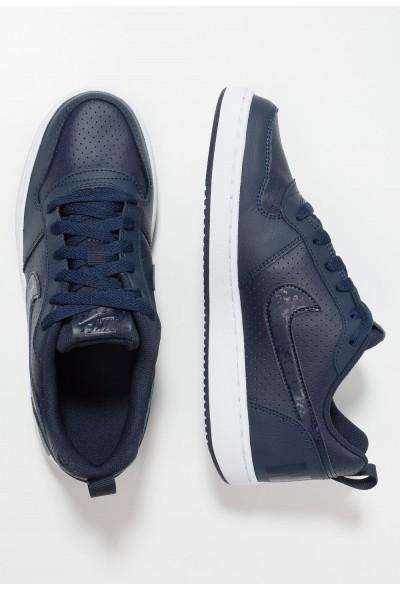Nike COURT BOROUGH  - Baskets basses obsidian/white