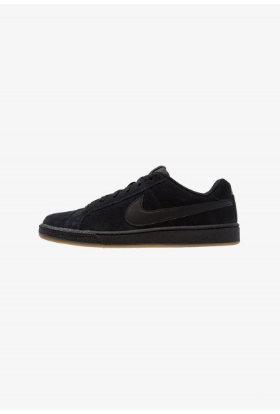 Nike COURT ROYALE SUEDE - Baskets basses black/light brown