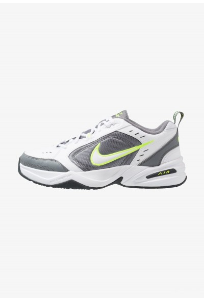 Nike AIR MONARCH IV - Baskets basses white/white /cool grey