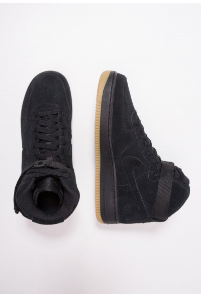 Nike AIR FORCE 1 LV8 - Baskets montantes black/light brown