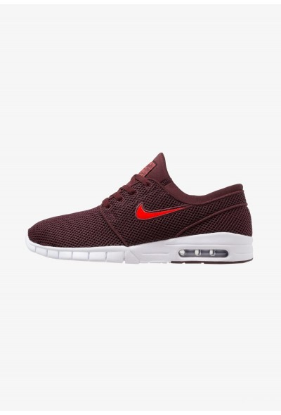 Nike STEFAN JANOSKI MAX - Baskets basses burgundy crush/habanero red/white