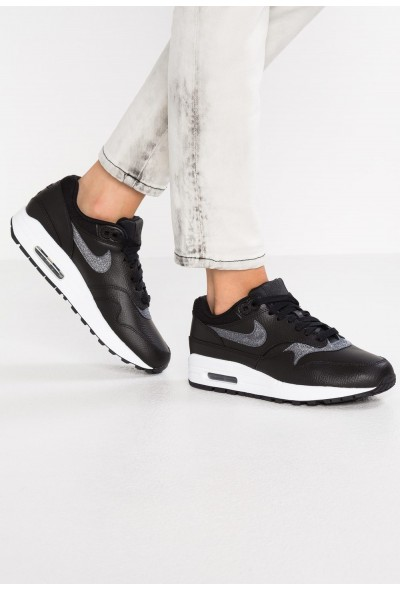 Nike AIR MAX 1 - Baskets basses black/dark grey/white