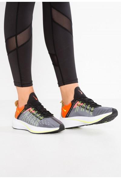 Nike EXP-X14 - Baskets basses black/volt/total crimson/dark grey