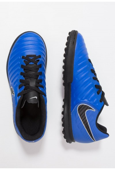 Nike TIEMPO LEGENDX 7 CLUB TF - Chaussures de foot multicrampons racer blue/black/wolf grey