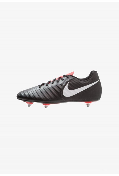 Nike TIEMPO LEGEND 7 CLUB SG - Chaussures de foot à lamelles black/pure platinum/light crimson