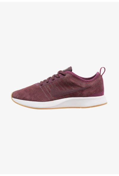 Nike DUALTONE RACER SE - Baskets basses deep burgundy/bordeaux/white/light brown