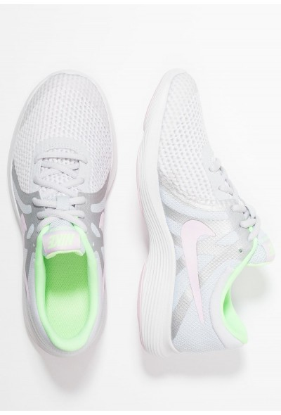 Black Friday 2019 - Nike REVOLUTION 4 - Chaussures de running neutres pure platinum/pink foam/platinum tint/lime blast