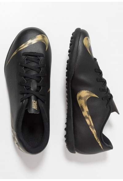 Black Friday 2019 - Nike MERCURIAL VAPORX 12 CLUB TF - Chaussures de foot multicrampons black/metallic vivid gold