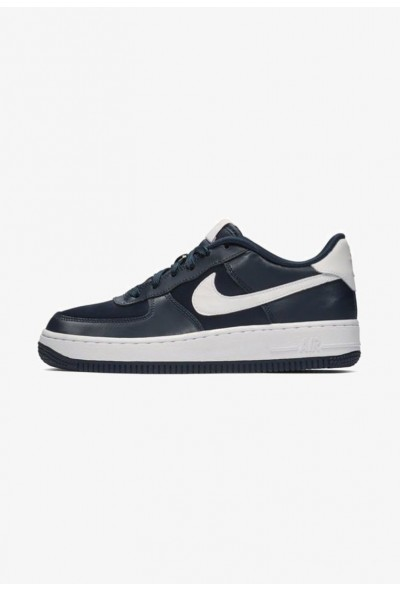 Nike AIR FORCE - Baskets basses dark blue/coral/white