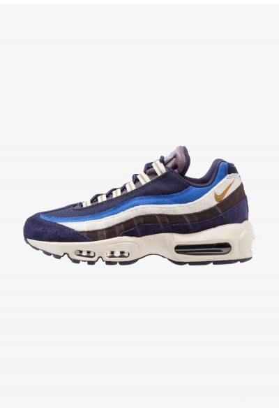 Nike AIR MAX 95 PRM - Baskets basses blackened blue/camper green/monarch/light cream/game royal/thunder blue