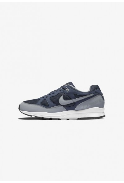 Nike AIR SPAN II - Baskets basses thunder blue/white/black/wolf grey