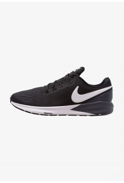 Nike AIR ZOOM STRUCTURE  - Chaussures de running stables black/white/gridiron