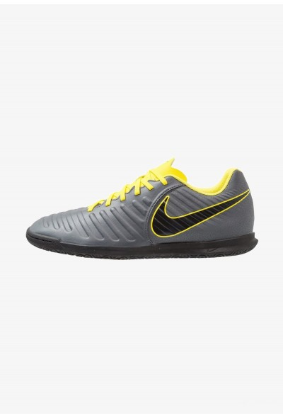 Nike TIEMPO LEGENDX 7 CLUB IC - Chaussures de foot en salle dark grey/optic yellow/black