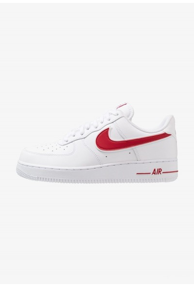 Nike AIR FORCE 1 '07 - Baskets basses white/gym red