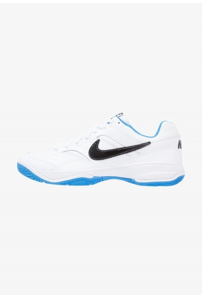 Black Friday 2019 - Nike COURT LITE - Baskets tout terrain white/black/light photo blue