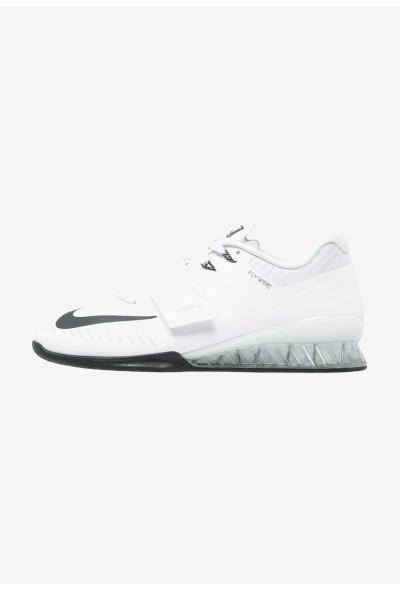 Nike ROMALEOS 3 - Chaussures d'entraînement et de fitness white/black/volt