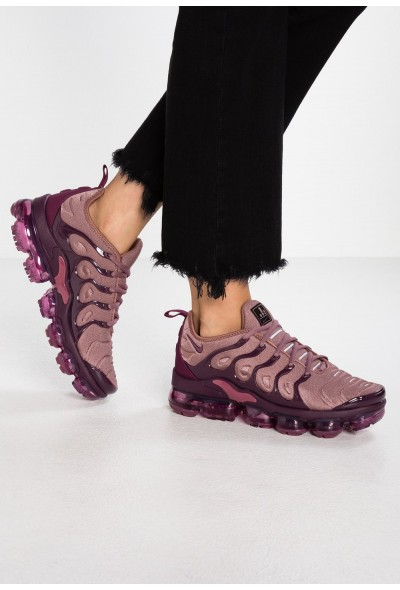 Nike VAPORMAX PLUS - Baskets basses smokey mauve/bordeaux/vintage wine