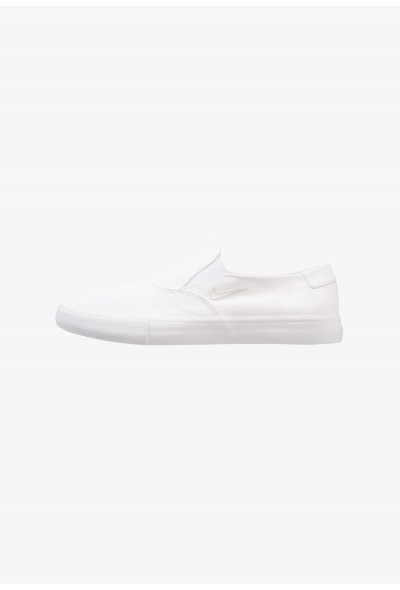 Nike PORTMORE - Mocassins white/light bone