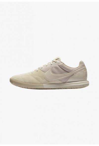 Nike THE PREMIER II SALA - Chaussures de foot en salle desert sand/white