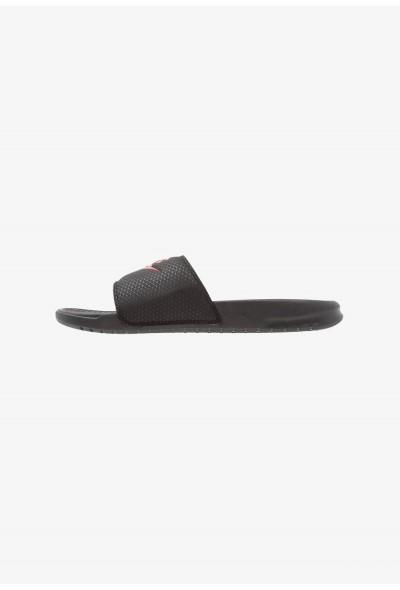 Nike BENASSI JDI - Sandales de bain black/challenge red